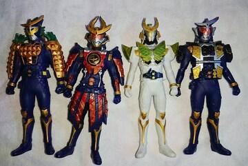 仮面ライダー鎧武★フィギア4体ガイム