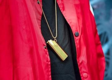 ゴールド アクセサリー ネックレス ライターネックレス