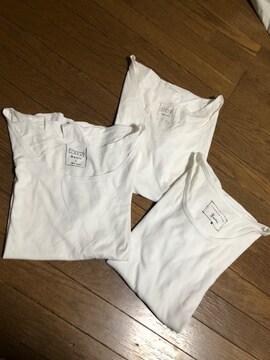 ローリーズファーム 白Tシャツ Lサイズ3枚