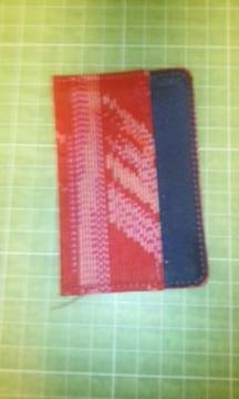 織物カードケース♪
