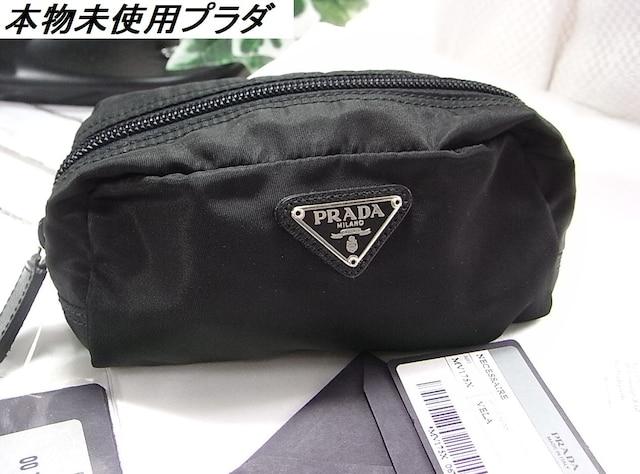 500スタ★本物未使用プラダ ポーチ型番MV175X