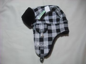 wb21 女 BILLABONG ビラボン 耳当て付き ファー ニット帽