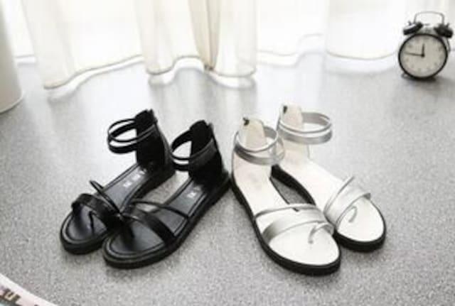 Y332即決 新品 サンダル 黒 22.5 エスペランサ ピンキー R&E セシル 好きに < 女性ファッションの
