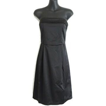美品 フォーエバー21 ベアトップ ドレス ワンピース S ブラック
