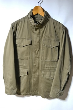 GU ジーユー M-65ジャケット オリーブ S 裏地付き メンズ 自衛隊