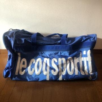 即決 lecoqsportif ルコック ボストンバッグ スポーツバッグ