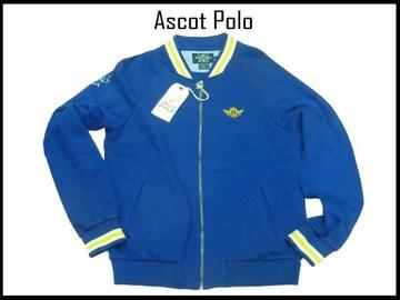 新品ASCOT POLO アスコットポロ ジャケット ジップアップ