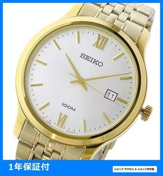 新品 即買い■セイコー 腕時計 SUR224P1 ホワイトシルバー