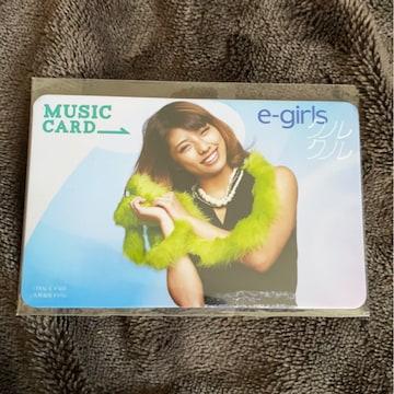E-girls☆クルクル☆SAYAKA☆MCカード(^○^)