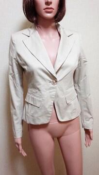 ☆未使用品☆綺麗め一釦の格好いいジャケットA5☆3点で即落☆