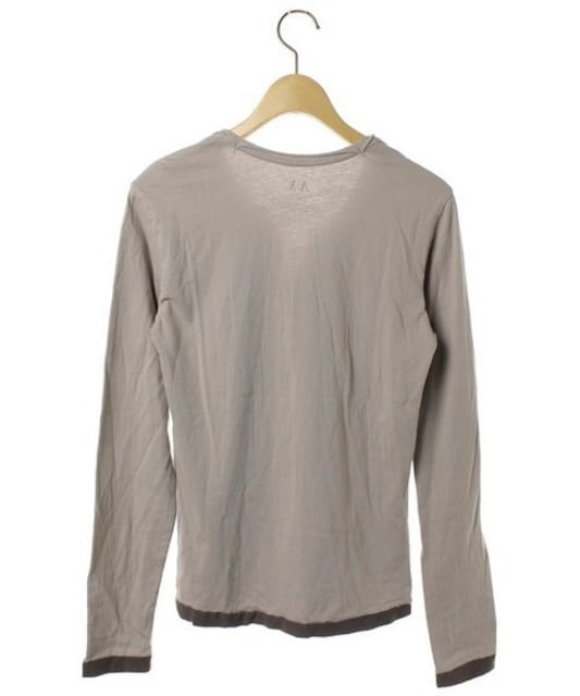☆ARMANI EXCHANGE アルマーニエクスチェンジ 長袖Tシャツ/メンズ/XS < ブランドの