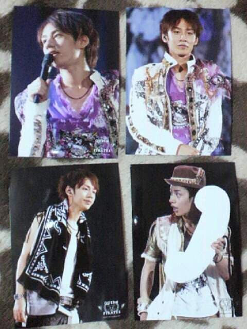 KAT-TUN*中丸雄一【QUEEN OF PIRATES*2008】公式写真  < タレントグッズの