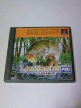 即決 PS レイクマスターズPRO / プレステ ポケステ対応 魚釣り バスフィッシングゲーム