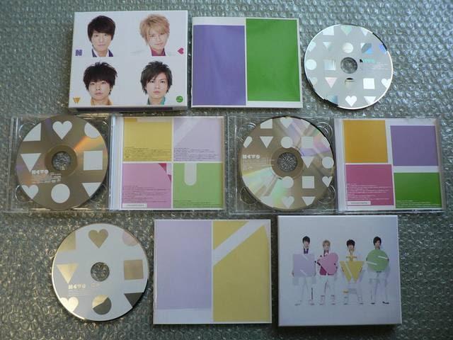 NEWS/アルバム【初回盤A+B】2枚セット(3CD+DVD)他にも出品 < タレントグッズの