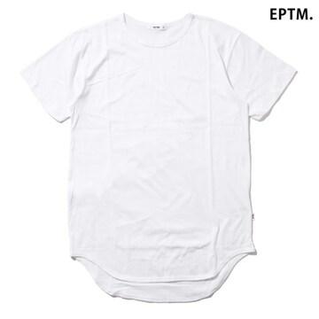 EPTM LONG TEE TALL エピトミ Tシャツ ロング 無地 半袖 CHRIS BROWN カニエ