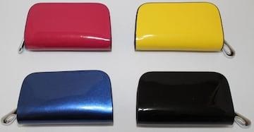 4色 本革 エナメルスマートキ−ケース キ−ケース