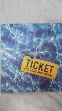 舞台「愛と青春キップ」限定パンフレット岩本照・渡辺翔太・阿部亮平オマケ