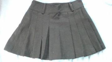 新品♪CECILMcBEE・セシルマクビープリーツミニスカート黒