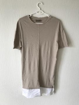 bershka トップス ベルシュカ Tシャツ メンズ インナー ブラウン