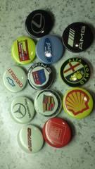 缶バッジ 自動車メーカー等 12種類  未使用品
