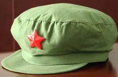 中国軍65式制帽星付(人民帽)ベトナム戦争 中越戦争