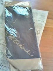 新品『三越』黒★非売品ノベルティバイカラーオリジナルトートバッグ