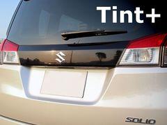 Tint+再使用できる ソリオ MA15S リアガーニッシュ スモークフィルム(ブラックスモーク5%)
