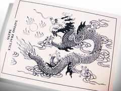 【刺青・タトゥー】練習用スキン【 龍 】 1枚