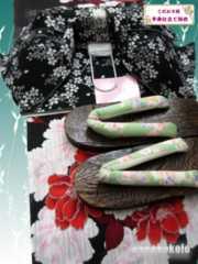 【和の志】女性用浴衣お買い得セット◇Fサイズ◇海-219