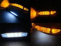 日産LEDドアミラーウィンカー フェアレディZ Z33フットランプ