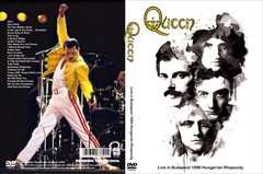 QUEEN LIVE in Budapest 1986 Hungarian フレディ・マーキュ