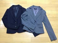 Le Souk(ルスーク)ウールジャケット2点セット超美品