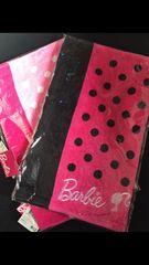 新品タグ付き バービー Barbieタオルset