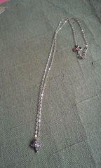 サマンサティアラ K18 ダイヤネックレス 中古品