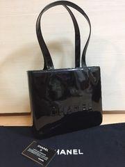 1円 ◆正規品◆ 良好 シャネル レザー ショルダー バッグ 黒