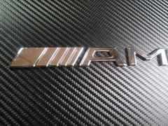 ● AMG SPORT セパレートTYPE ABS製 エンブレム 社外品USED!