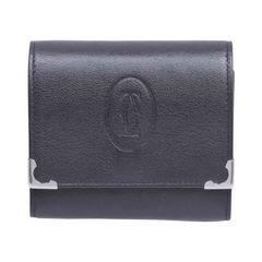 Cartier カルティエ CRL3000571 カボション レザー コインケース ブラック 送料無料