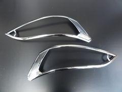 三菱デリカD:3  クロームメッキヘッドライトリング