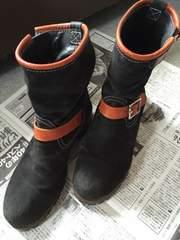 送料込み ブリューテンブラット ブーツ 黒 9インチ