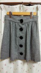 FREE'S SHOP/フリーズショップ★大きなボタンの可愛いスカート☆サイズM★