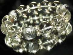 大特価!!白銀龍彫龍紋石ドラゴンアゲート×本水晶クリスタル数珠