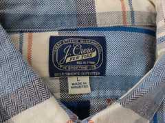 J.CREW プルオーバーシャツ ネルシャツ Lサイズ