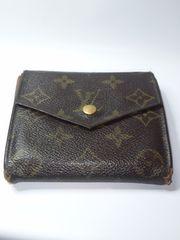 Louis Vuitton Wホック二つ折財布