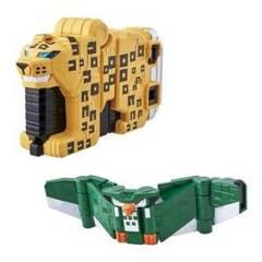 ジュウオウキューブウエポンEX動物武装キューブヒョウ&キューブフクロウセット