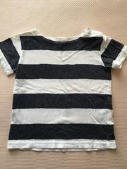 MUJI☆ボーダー柄Tシャツ90☆美品
