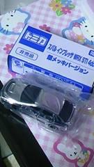 新品★非売品★トミカ★スバル インプレッサ WRX STl 4door 銀メッキバージョン