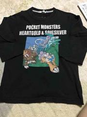 美品 UNIQLO ポケモン 7分袖Tシャツ 130