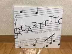 NEWS  LIVE TOUR 2016 QUARTETTO Blu-ray 初回盤 外袋有り