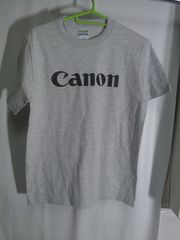 Canon ロゴTシャツ Size S �A