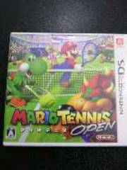 3DS[マリオテニスオープン]ソフト/ケース/取説セット・動作確認済み